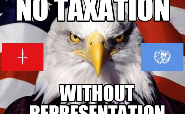 """Die """"amerikanische"""" Steuerrevolution der Staatsbürger des Free Territory of Trieste"""
