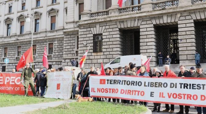 News from the Free Trieste Movement
